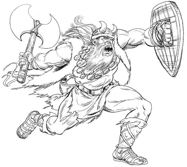 Viking Coloring Pages For Adults : Free coloring pages of viking god thor