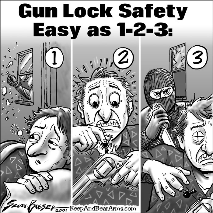 Gun Lock Safety